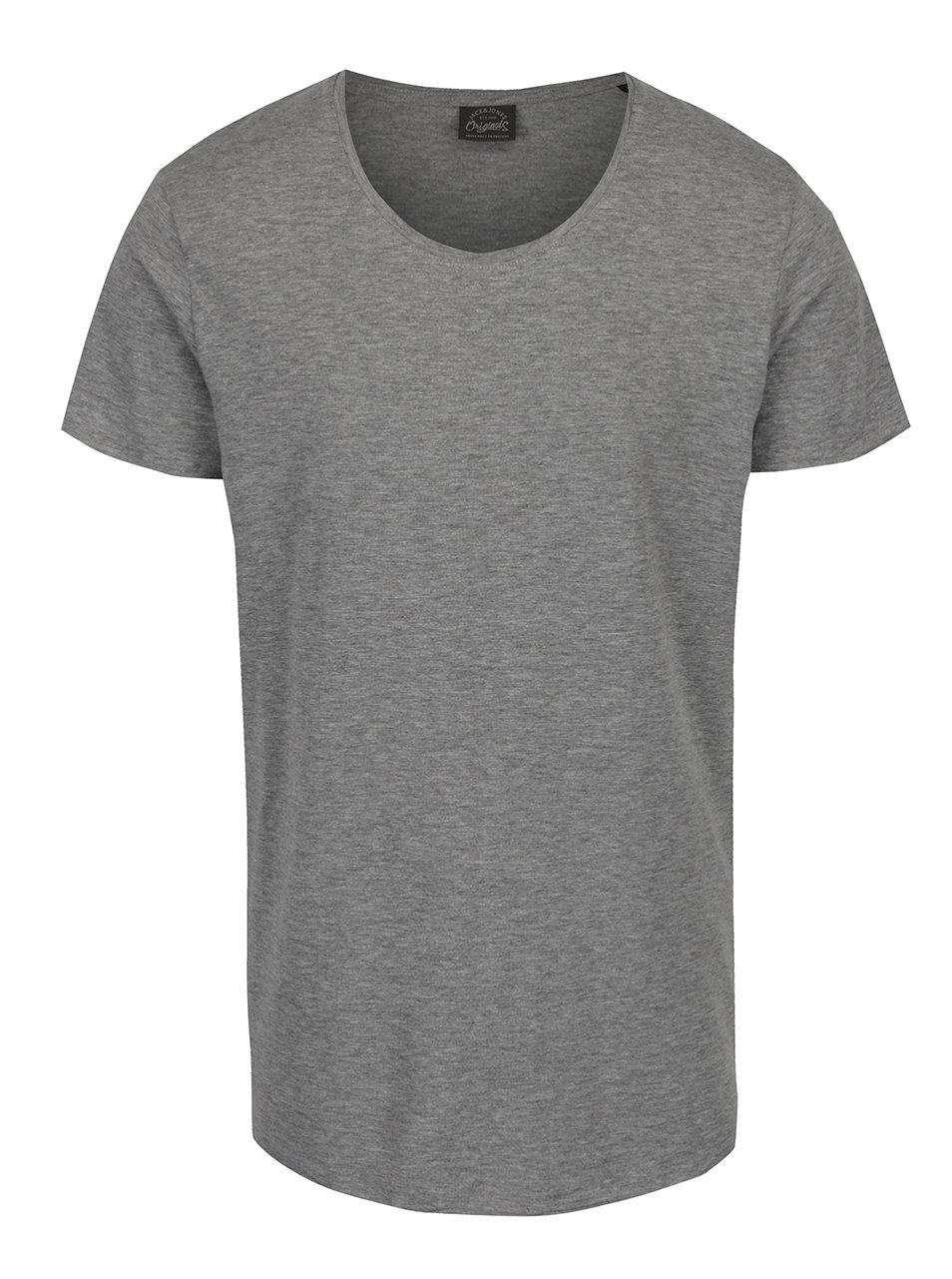 Šedé tričko Jack & Jones Orbas