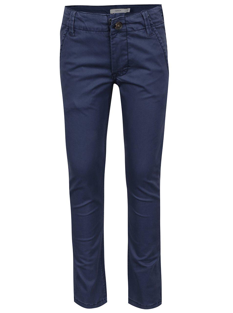 Modré klučičí chino kalhoty name it Timber