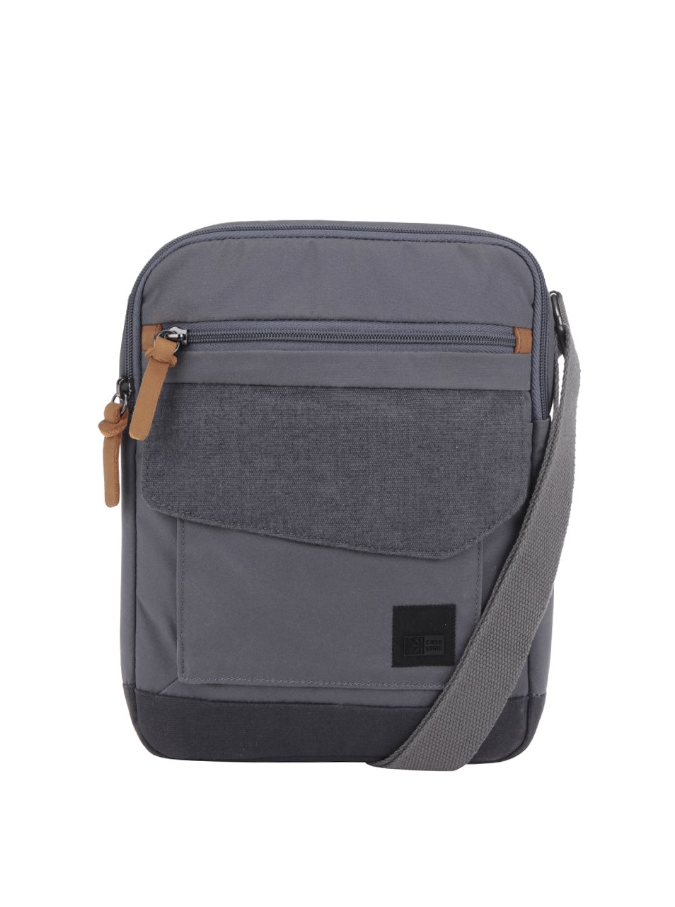 Šedá pánská crossbody taška na tablet Case Logic LoDo