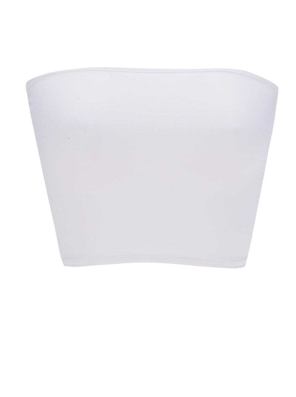 Bílá podprsenka bez ramínek ZOOT