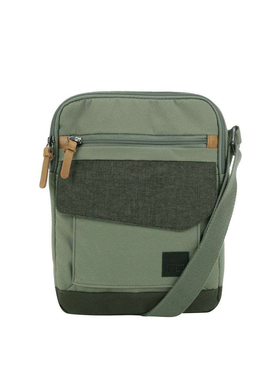 Zelená pánská crossbody taška na tablet Case Logic LoDo