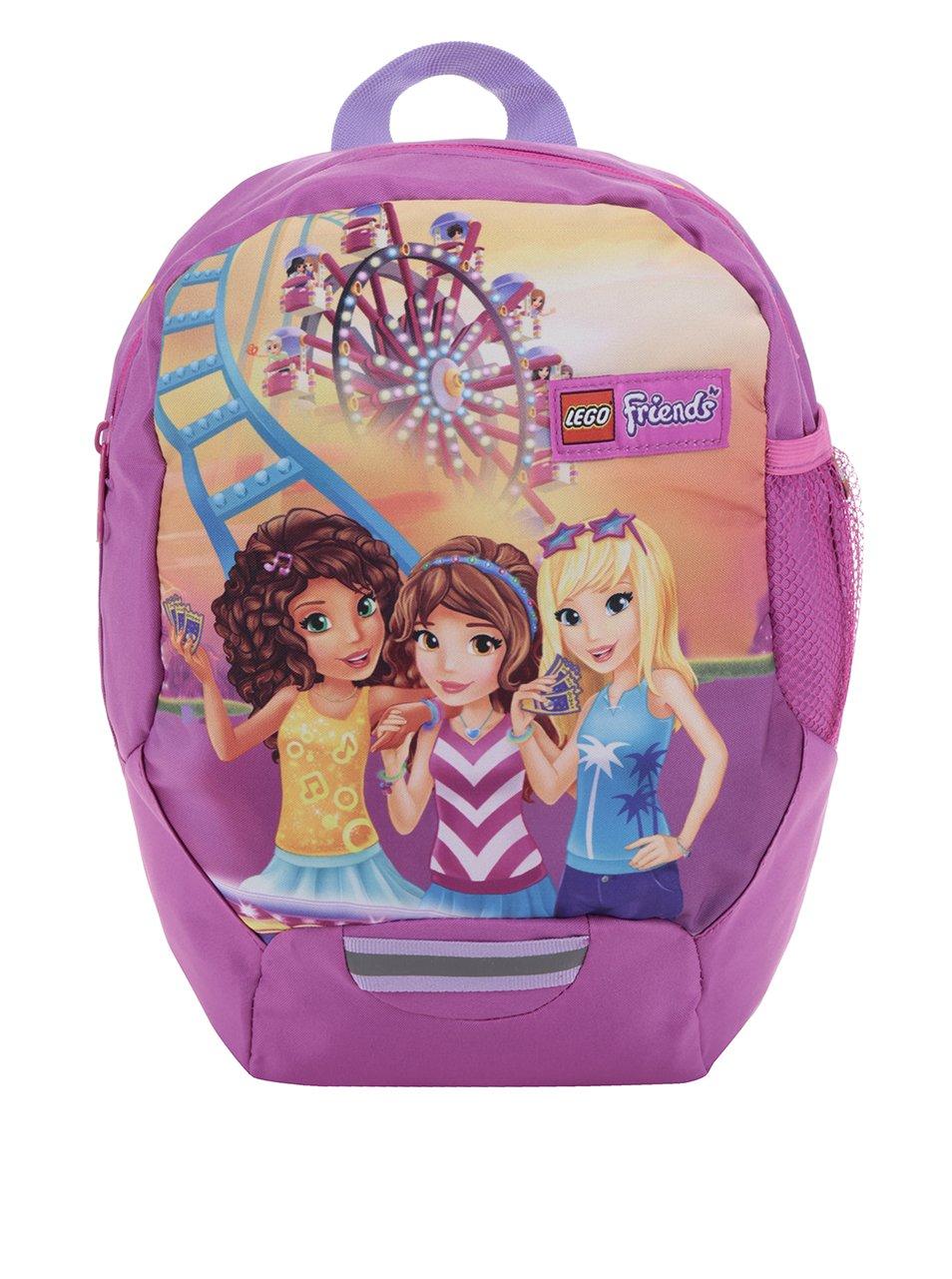 Růžový holčičí batoh LEGO Wear Friends Funpark 10 l