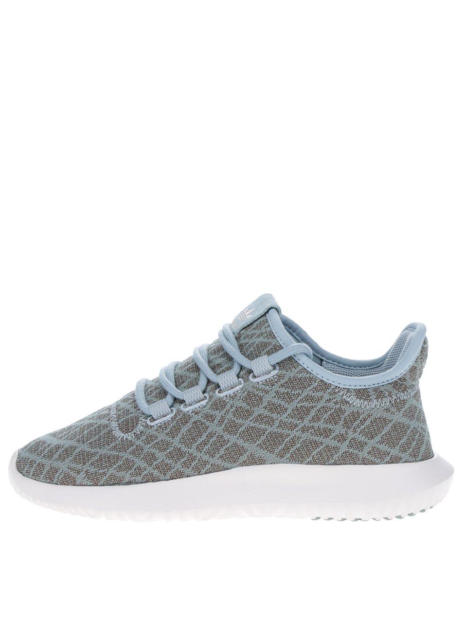 Khaki dámské vzorované tenisky adidas Originals Tubular Shadow