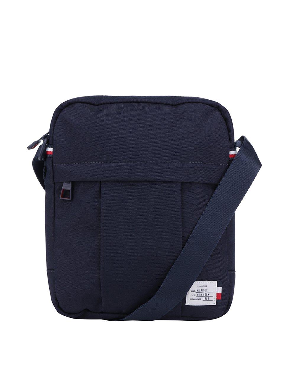 Tmavě modrá pánská crossbody taška Tommy Hilfiger Tommy Slim Reporter