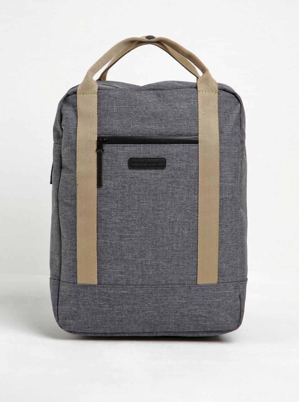 Šedý žíhaný voděodolný batoh/taška UCON ACROBATICS Ison 16 l