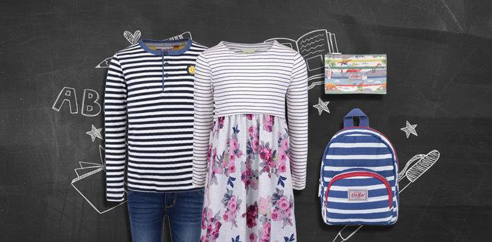 První školní outfit
