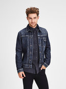 Tmavě modrá džínová bunda Jack & Jones