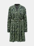 Zelené kvetované šaty VERO MODA Viola