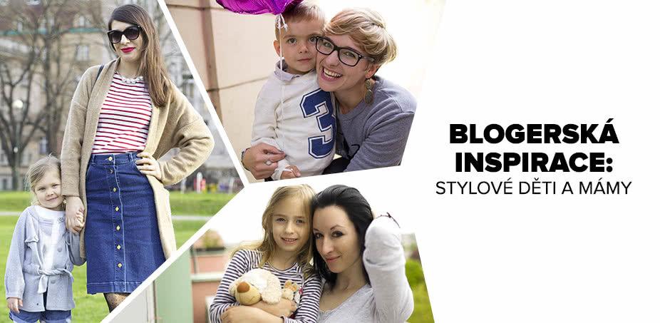 BLOGERSKÁ INSPIRACE: Stylové děti a mámy