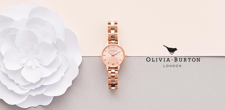 Olivia Burton: Šarmantné vintage hodinky