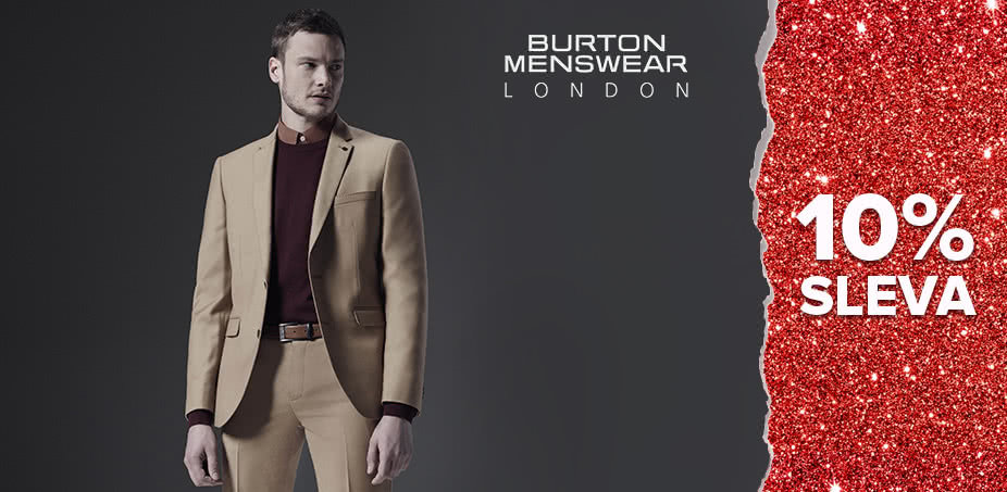 Burton Menswear London: Elegance na každý den