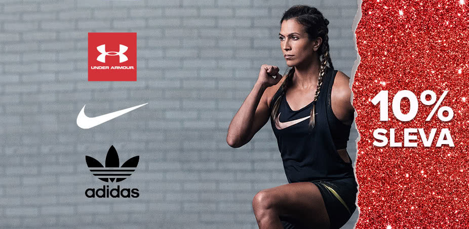 NIKE + adidas Originals + Under Armour: Tři králové sportu