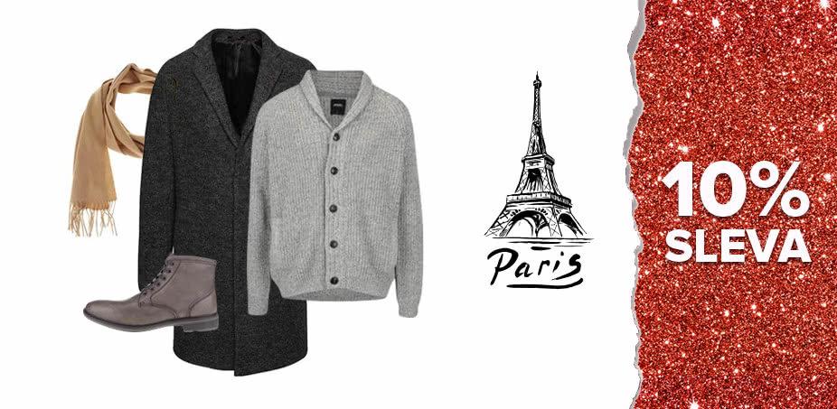 Advent v Paříži: Co si oblékne ON