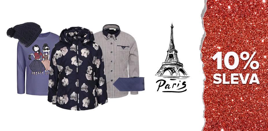 Advent v Paříži: Co si obléknou DĚTI