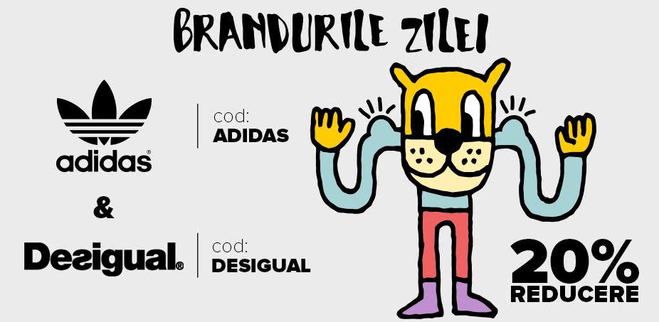 Brandurile zilei: Desigual + adidas Originals