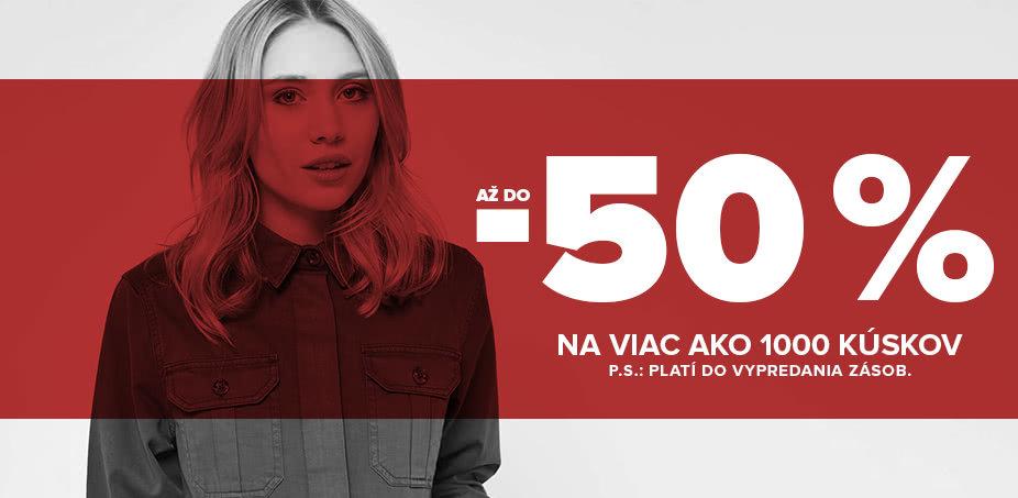 48f9dbd00 50 % = VŠETKO ZA POLOVICU pre ŇU | ZOOT.sk