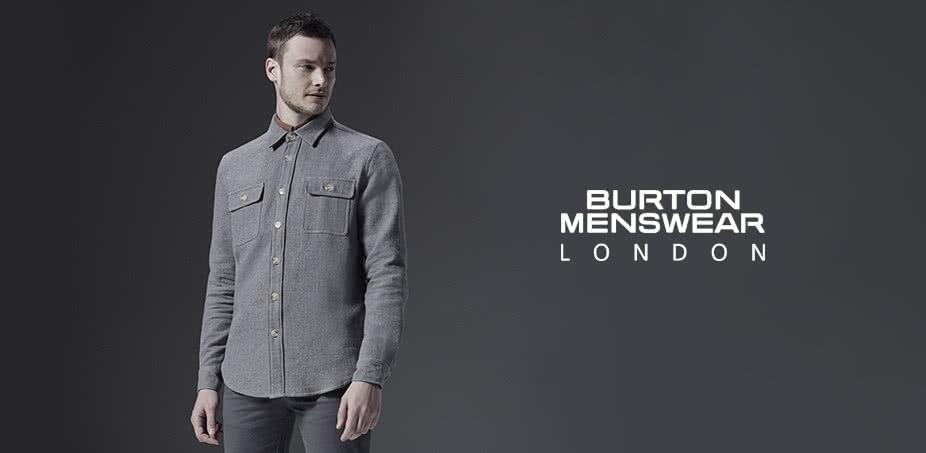 Burton Menswear London: Jen tak