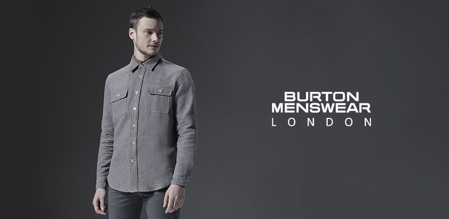 Burton Menswear London: Klasika i trendy