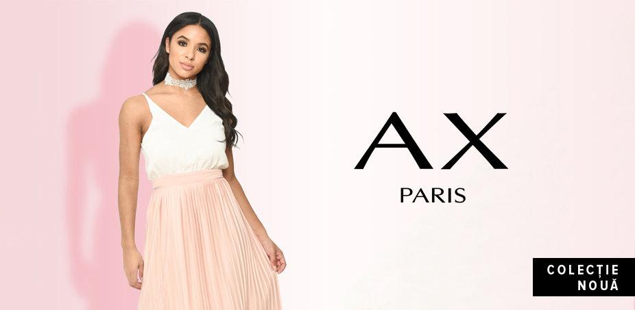 AX Paris: Roz, albastru și negru
