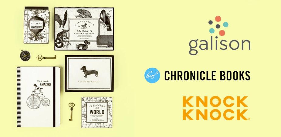 Galison + Chronicle + Knock Knock