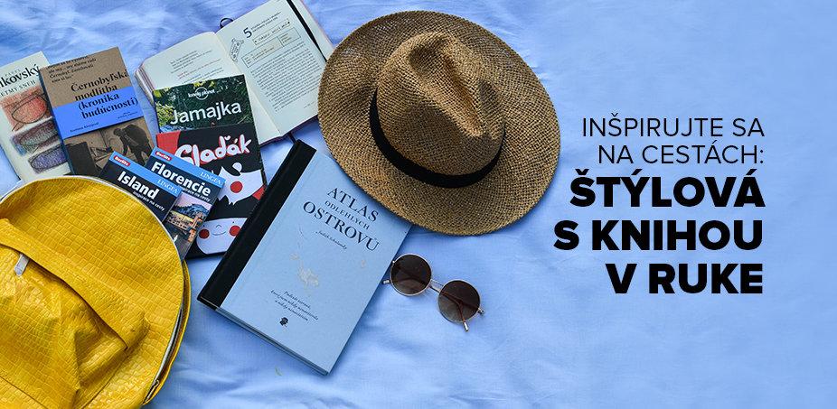 Inšpirujte sa na cestách: Štýlová s knihou v ruke