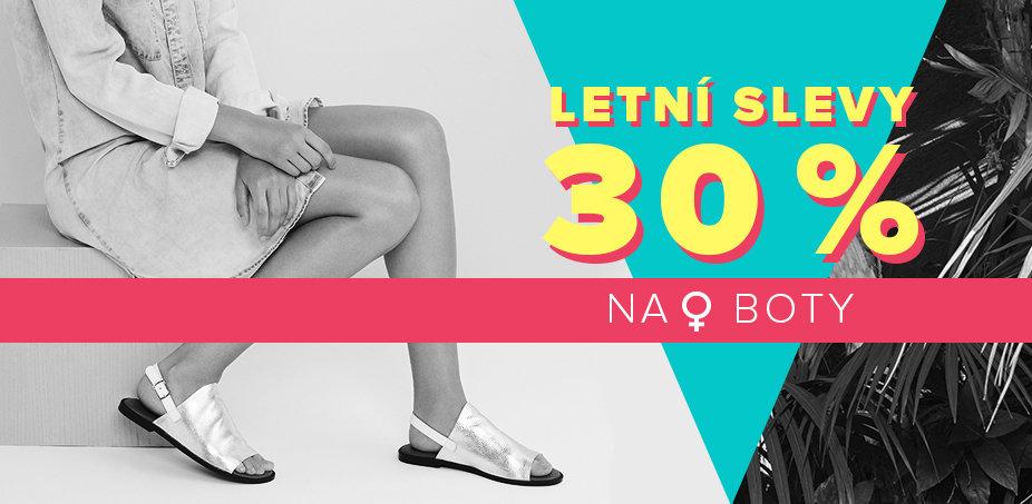 Letní slevy 30 % na boty ♀