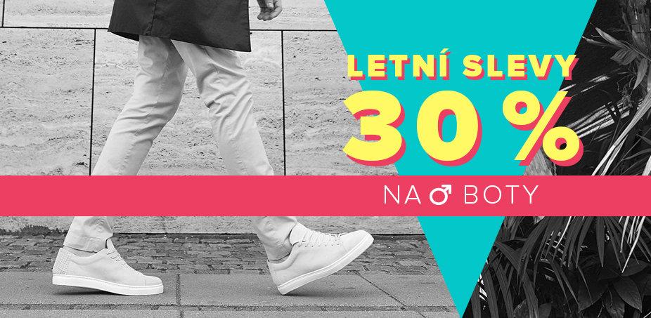Letní slevy 30 % na boty ♂