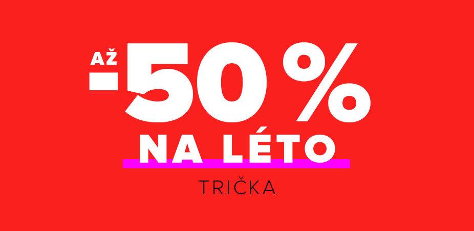 Až -50 % na léto: Trička ♀