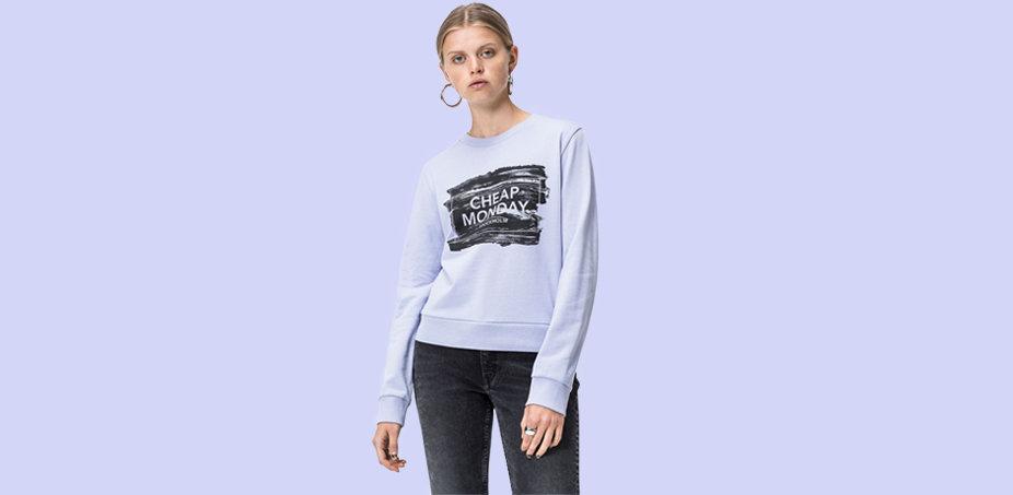 Mix & match: jeans + bluze si tricouri♀