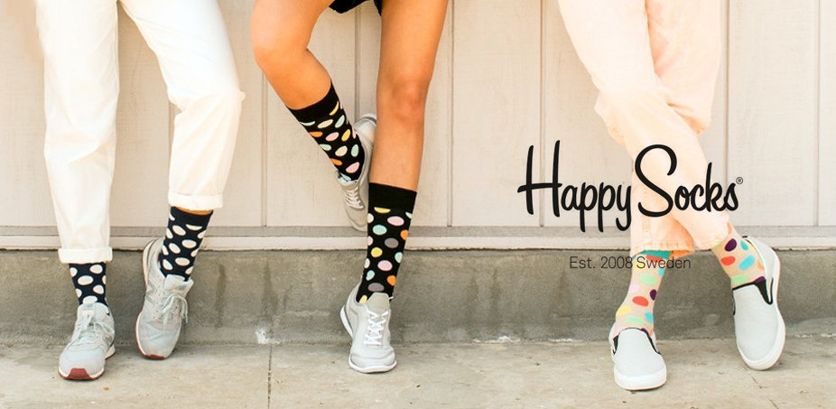 Happy Socks: Picioare fericite