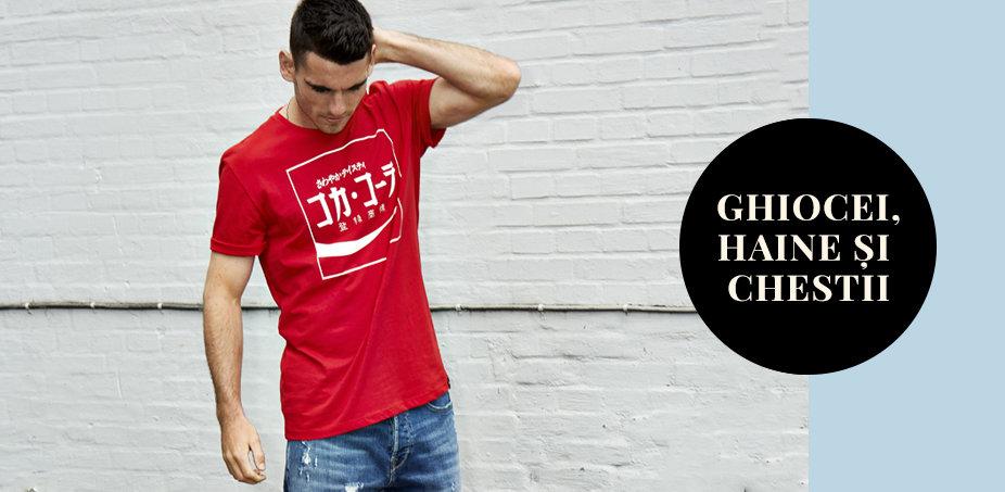 Outfitul zilei: Blugi clasici plus tricouri si bluze originale♂