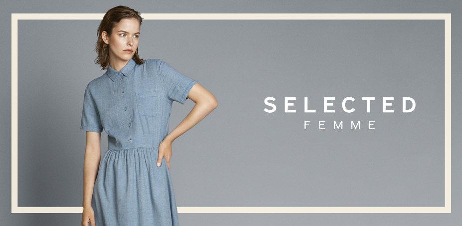 Selected Femme: Feminin si curajos