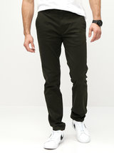 Kaki skinny chino nohavice Burton Menswear London