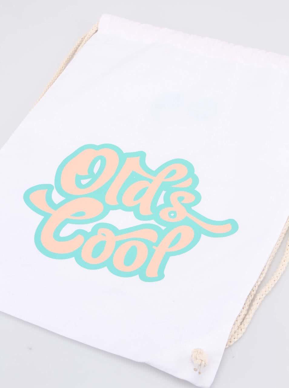 """""""Dobrý"""" plátěný vak Elpida Old`s Cool"""