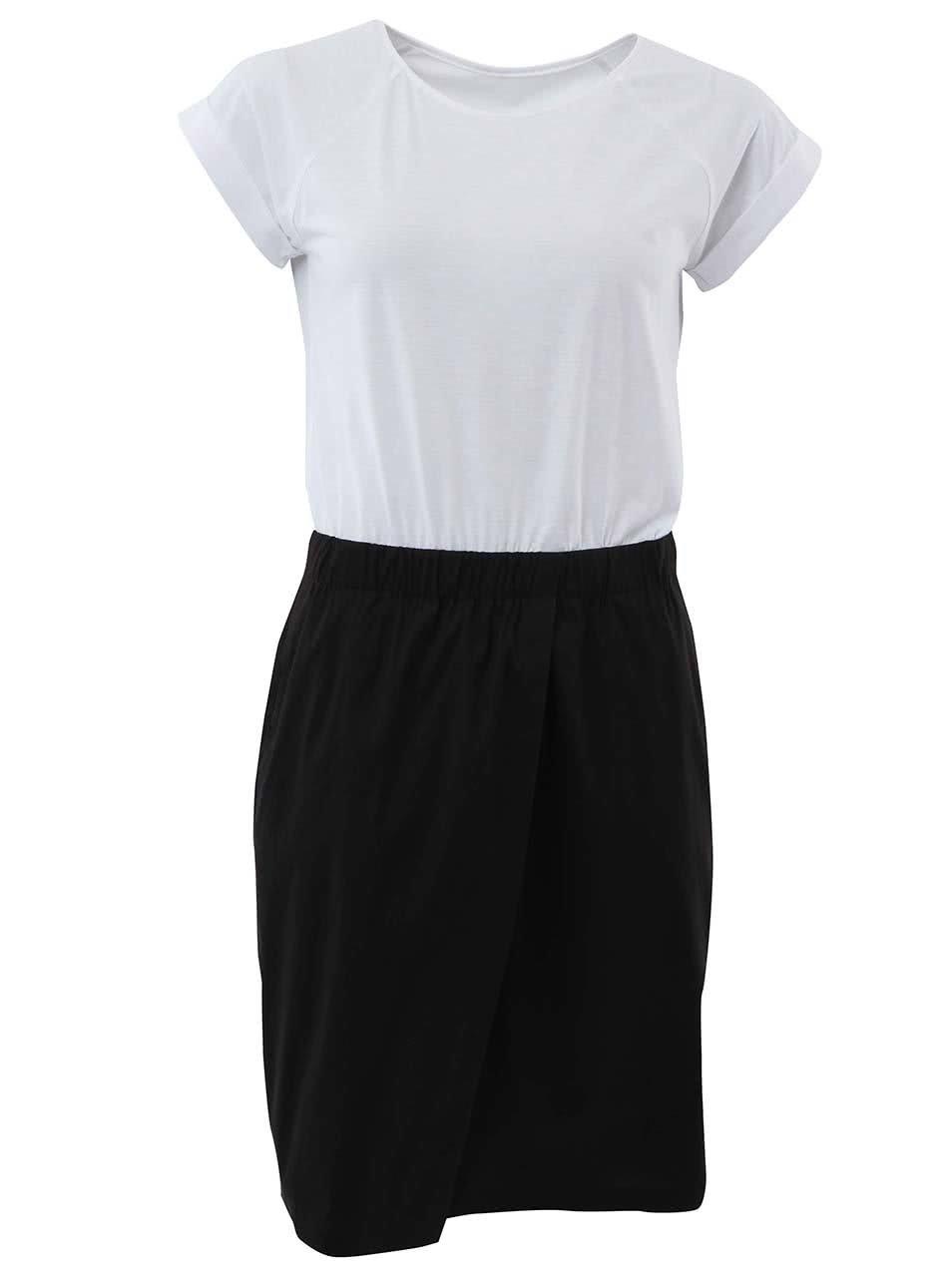 """""""Dobré"""" černo-bílé šaty City Souls Mirka Horká"""