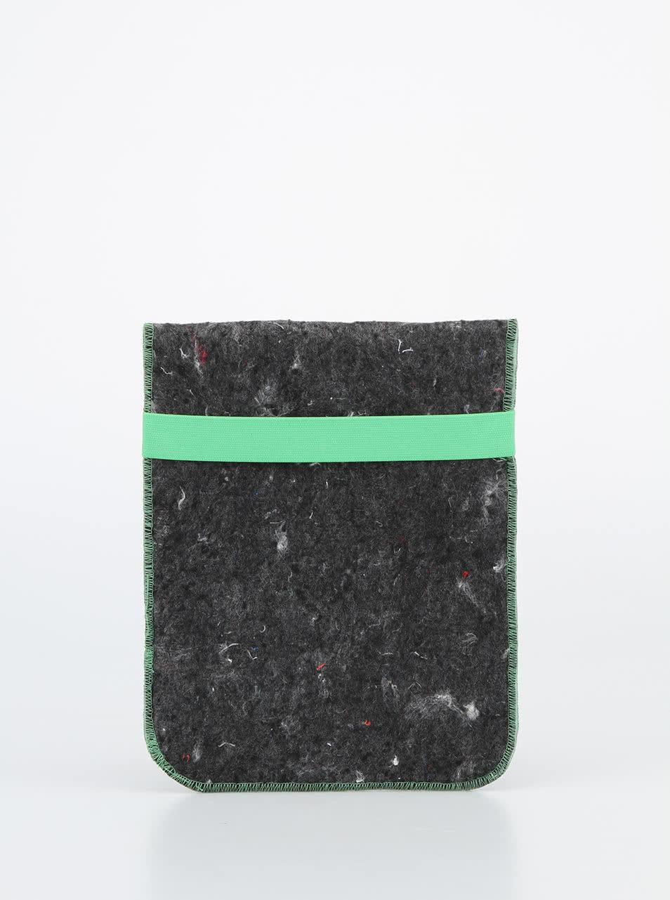 """""""Dobrý"""" obal na tablet FOREWEAR se zelenou gumou"""