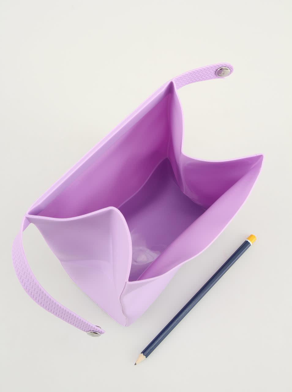 Levandulový silikonový pytlík na svačinu Compleat Foodbag