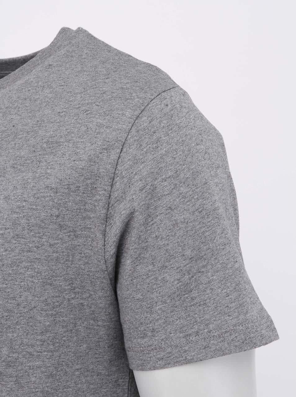 """""""Dobré"""" šedé pánské triko s bludištěm Cesta domů"""
