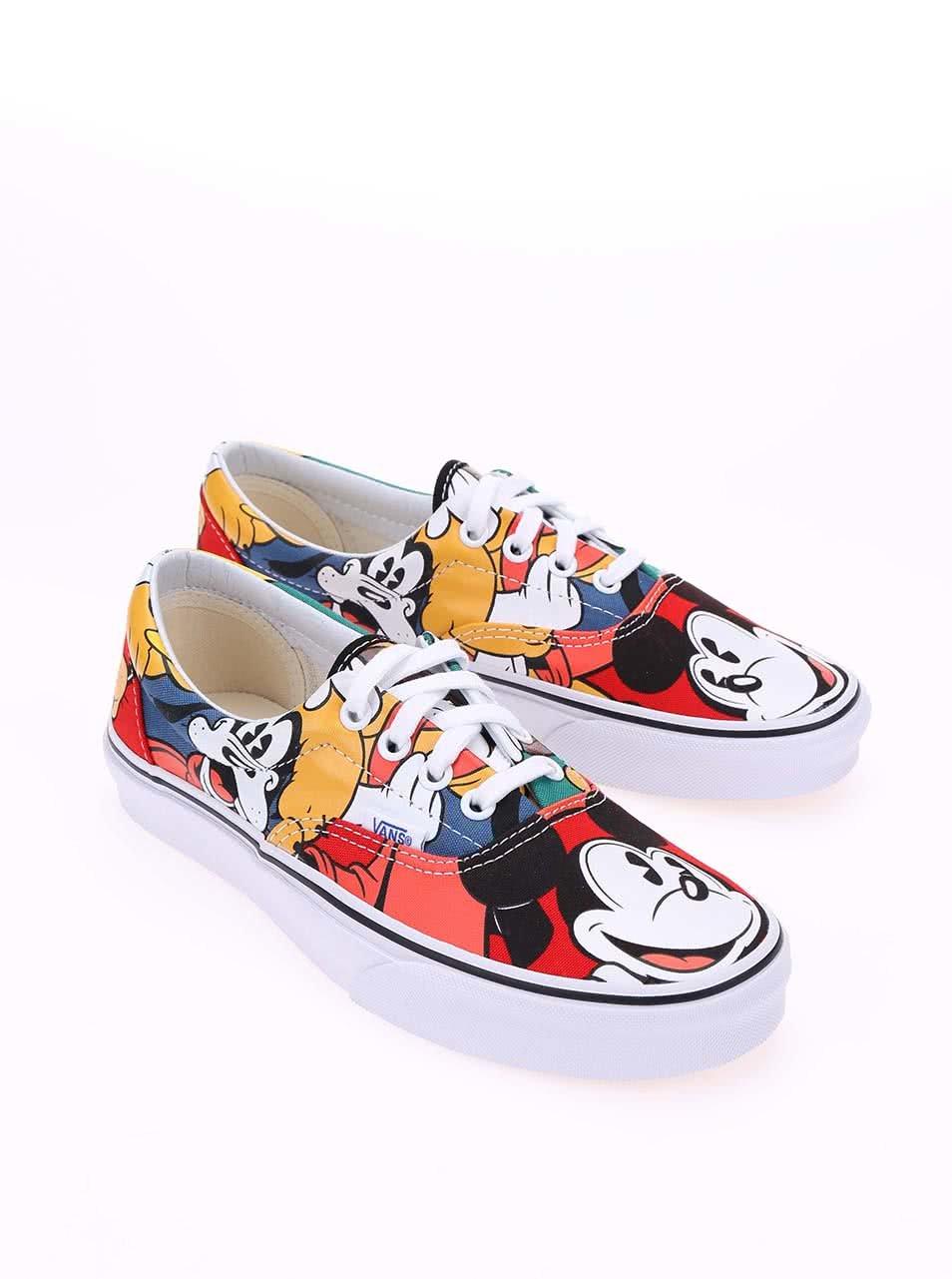 7ae0ea8af99 Barevné dámské tenisky s Disney postavičkami Vans Disney Era ...
