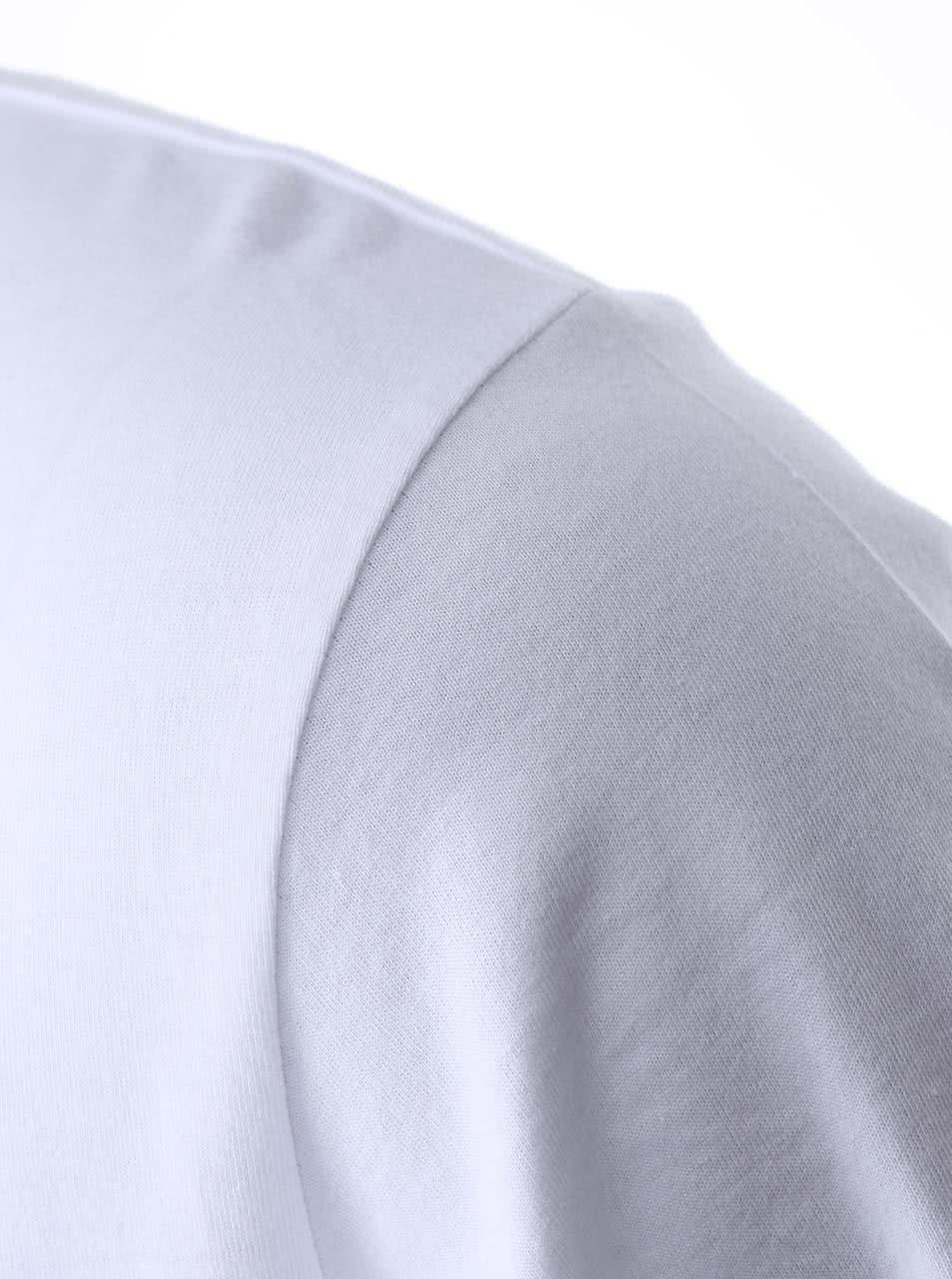 """""""Dobré"""" bílé pánské triko Diakonie Kolo"""