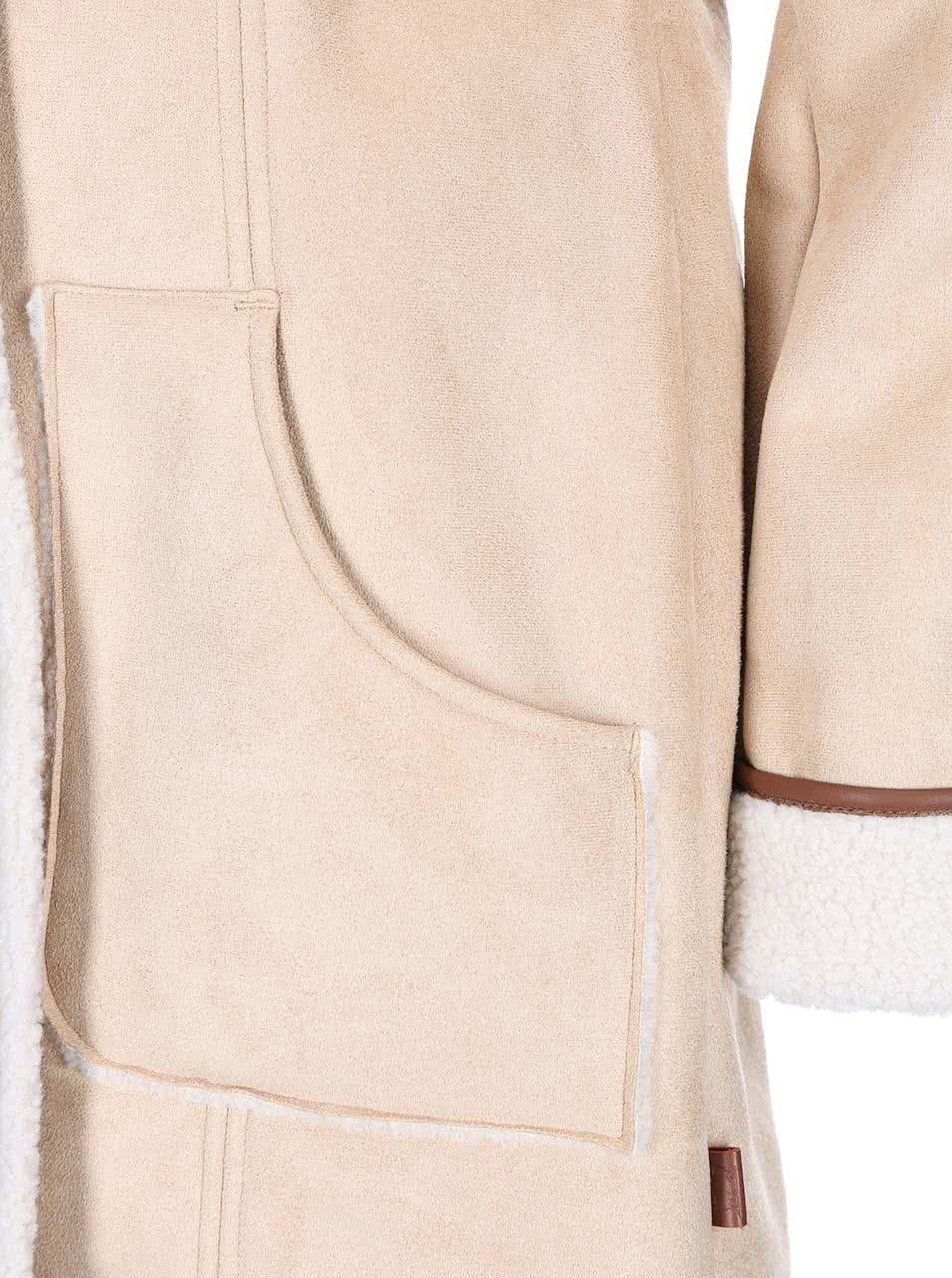 Krémový dámský kabát Bellfield Shepton