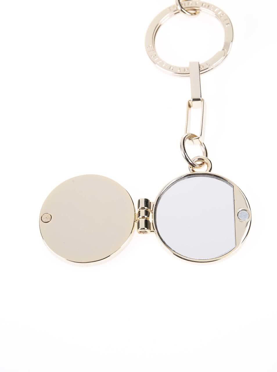 Čierne dámske zrkadlo na kľúče Tommy Hilfiger Rosanna ... 80b306ceff1
