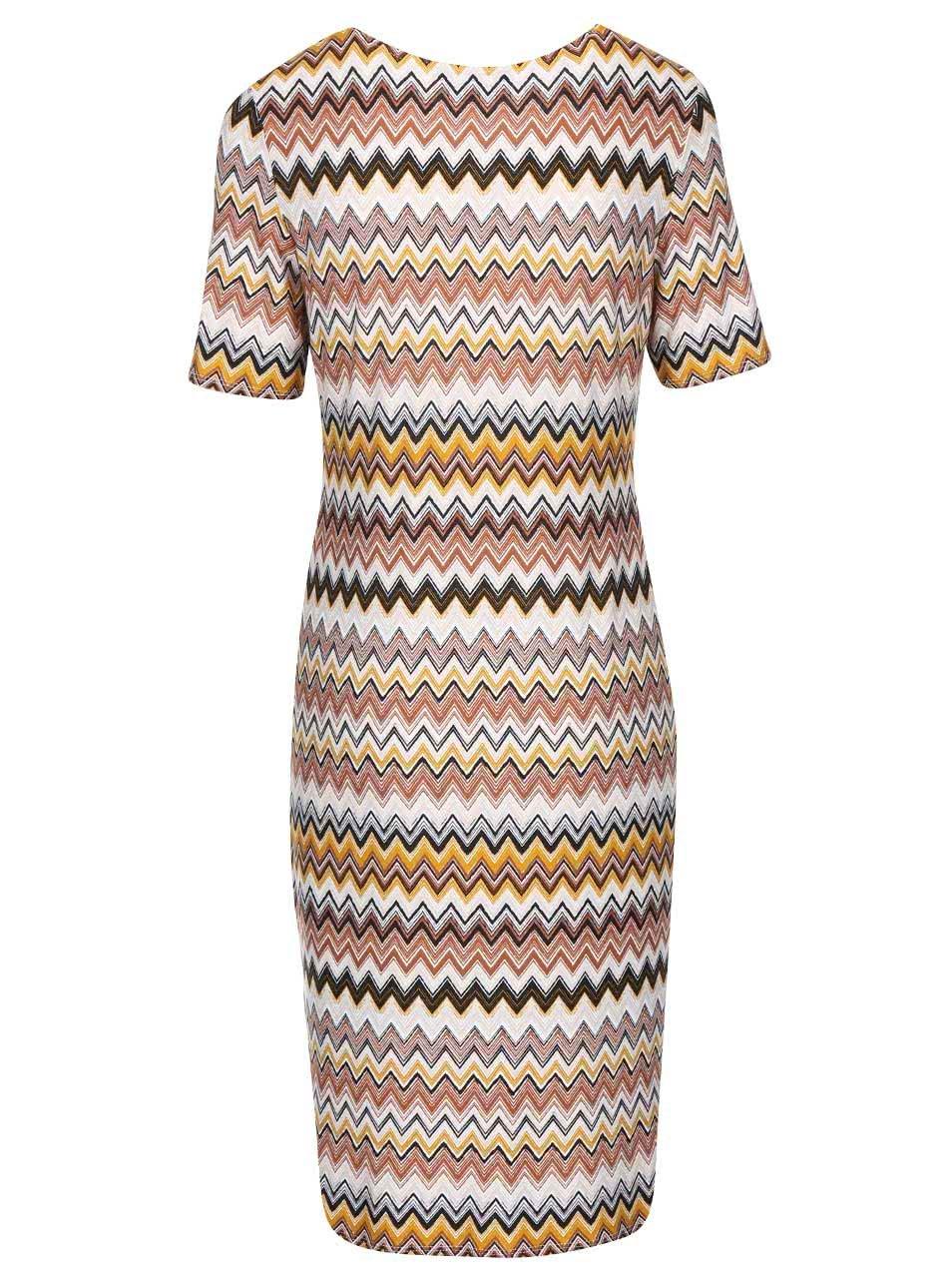 a1fa954a833d Farebné vzorované šaty Dorothy Perkins ...