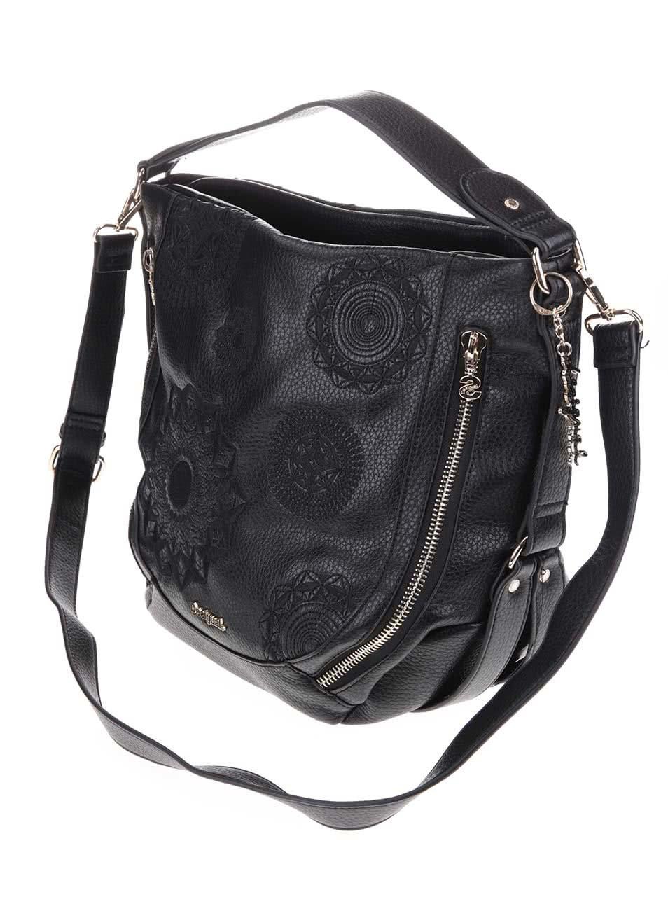 Černá kabelka Desigual Marteta Alexa ... d64fd88ca4d