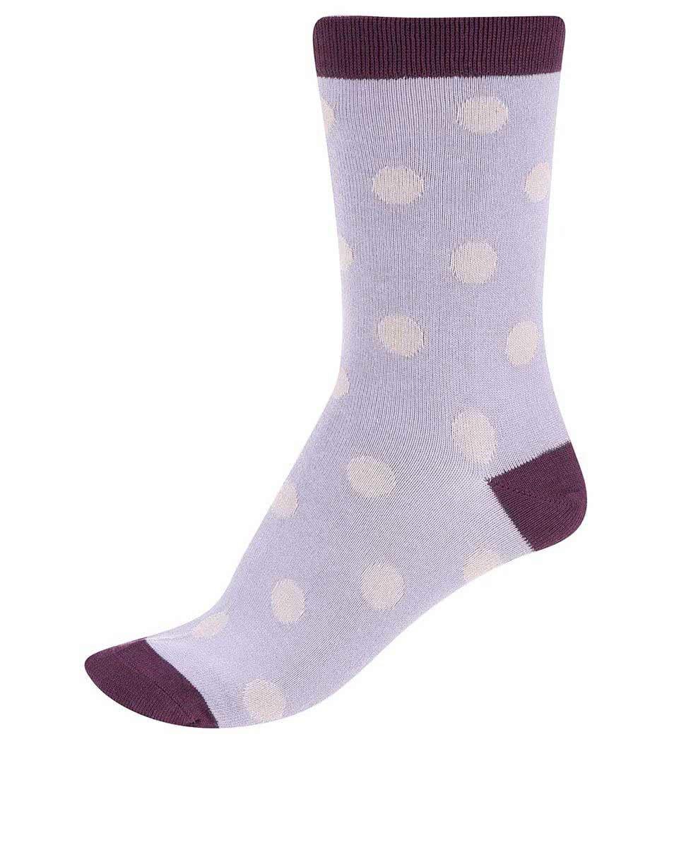 0087083be3e Fialové dámske bambusové ponožky Braintree Kolet Spot ...