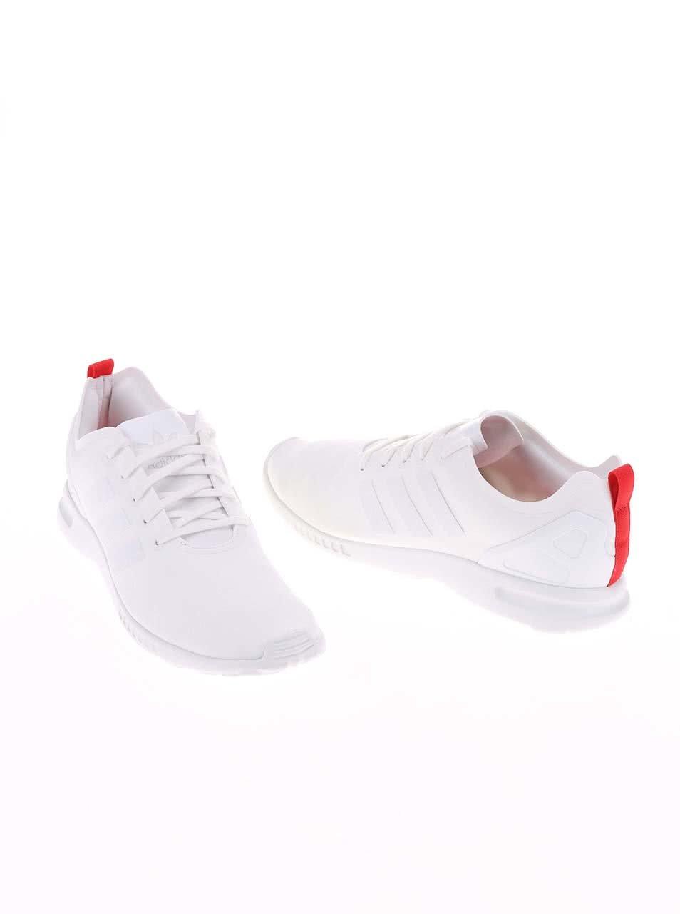 Biele dámske tenisky adidas Originals ZX Flux ... c05e79115d