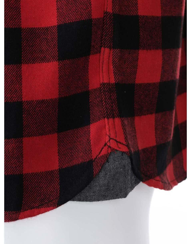 Černo-červená kostkovaná košile D-Struct Alaska ... c08d309d8a