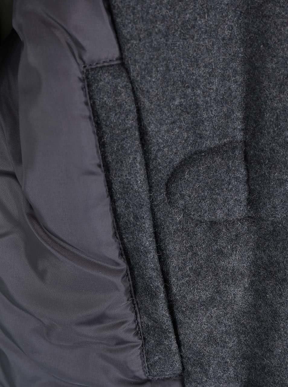 Sivá dámska bunda s kapucňou Desires Renna ... ac4804a8ffe