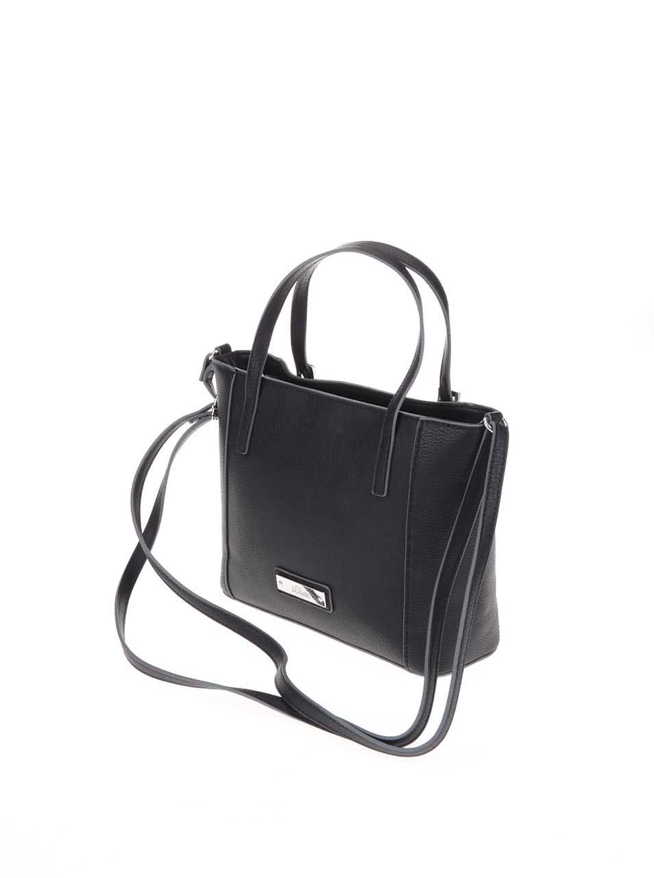 Černá menší kabelka s.Oliver ... b6b0d4db7cb