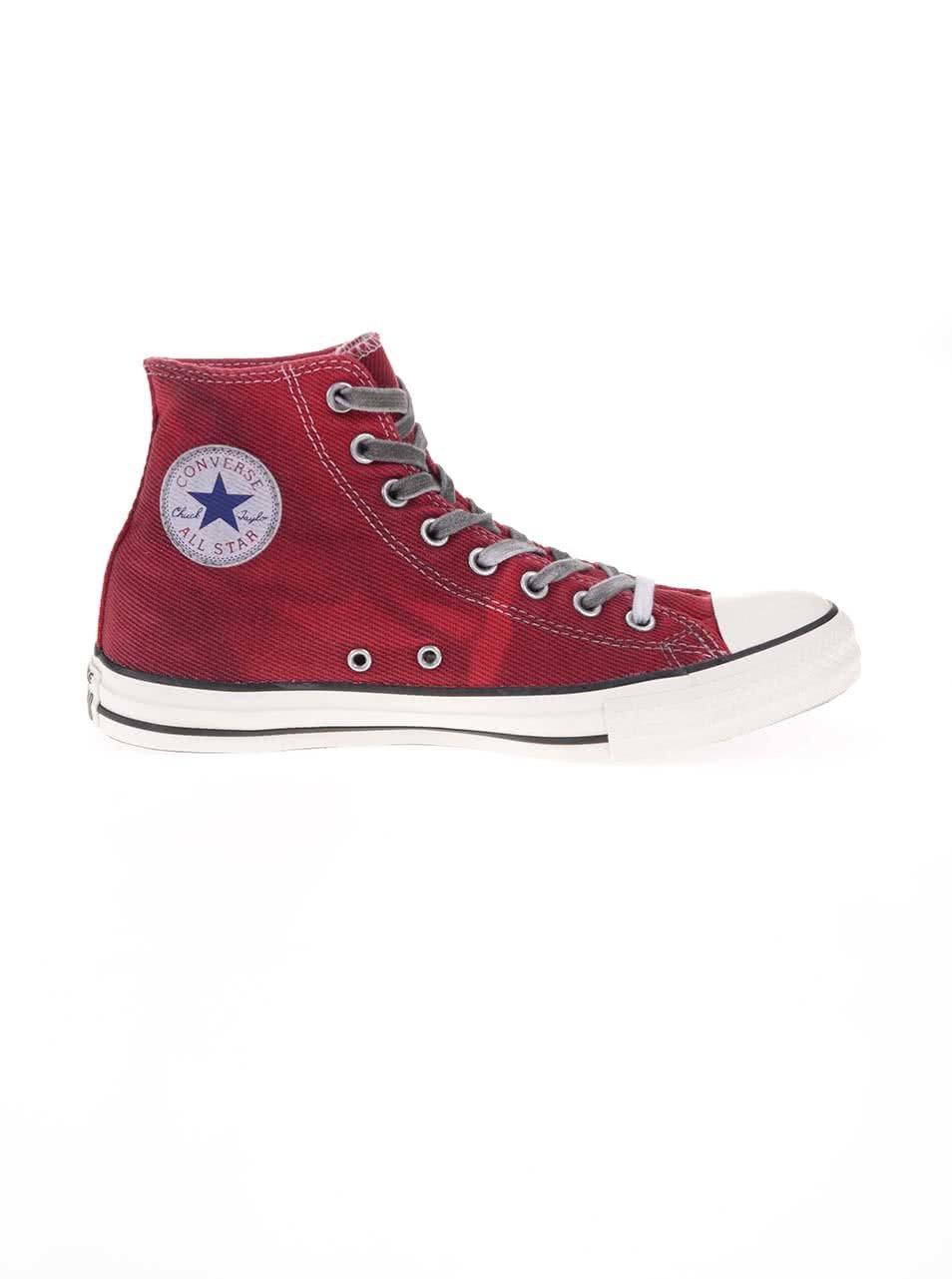 Červené pánské kotníkové tenisky Converse Chuck Taylor All Star ... 3d9ea3ad8f